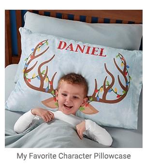 My Favorite Character Pillowcase