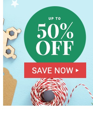 Up to 50% off Cyber Monday Deals