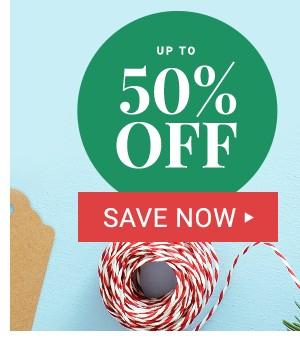50% Off Cyber Monday Deals