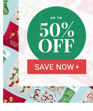 Up to 50% off Cyber Monday Deals.
