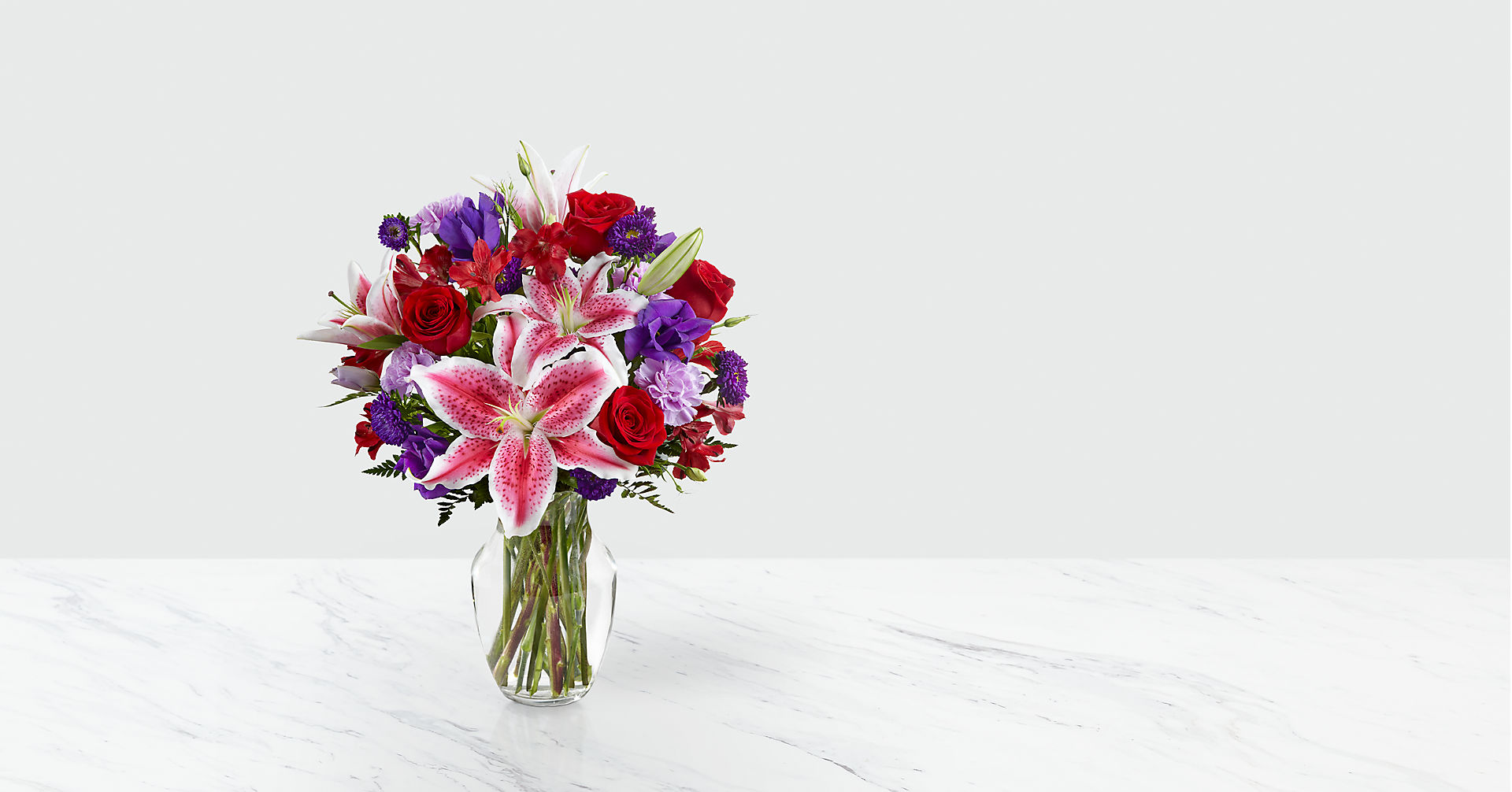 The Stunning Beauty™ Bouquet - VASE INCLUDED - Image 1 Of 2