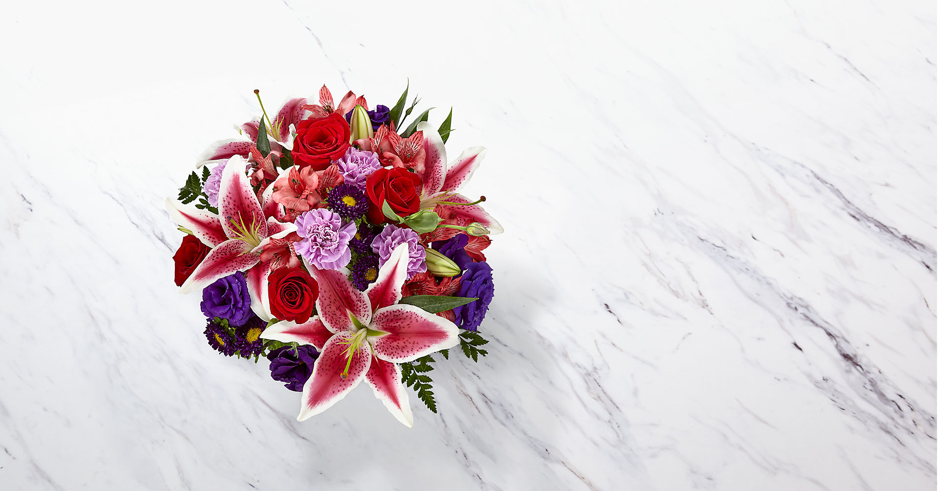 The Stunning Beauty™ Bouquet - VASE INCLUDED - Image 2 Of 2