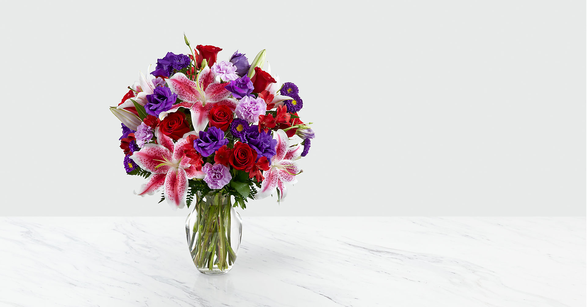 The Stunning Beauty™ Bouquet - VASE INCLUDED - Image 1 Of 3