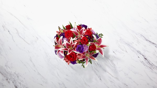 The Stunning Beauty™ Bouquet - VASE INCLUDED - Thumbnail 2 Of 2