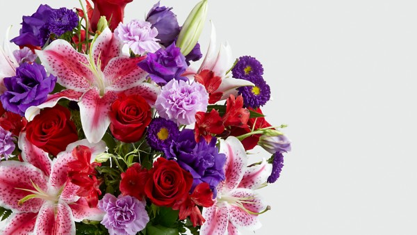 The Stunning Beauty™ Bouquet - VASE INCLUDED - Thumbnail 3 Of 3