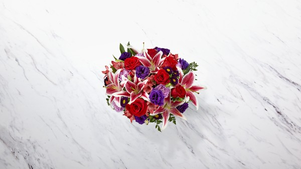 The Stunning Beauty™ Bouquet - VASE INCLUDED - Thumbnail 2 Of 3