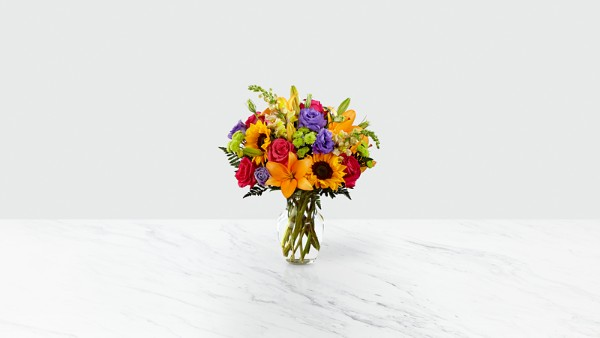 Best Day™ Bouquet- VASE INCLUDED - Thumbnail 1 Of 4
