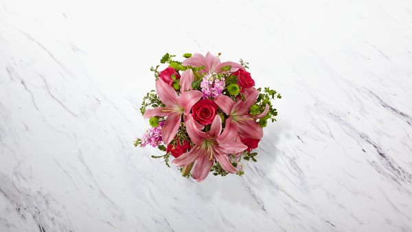 Pink Posh™ Bouquet - Thumbnail 2 Of 2