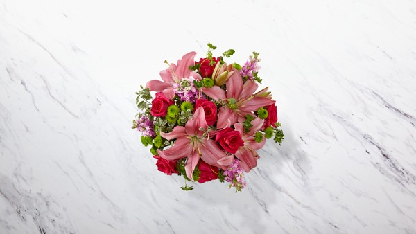 Pink Posh™ Bouquet- VASE INCLUDED - Thumbnail 2 Of 4