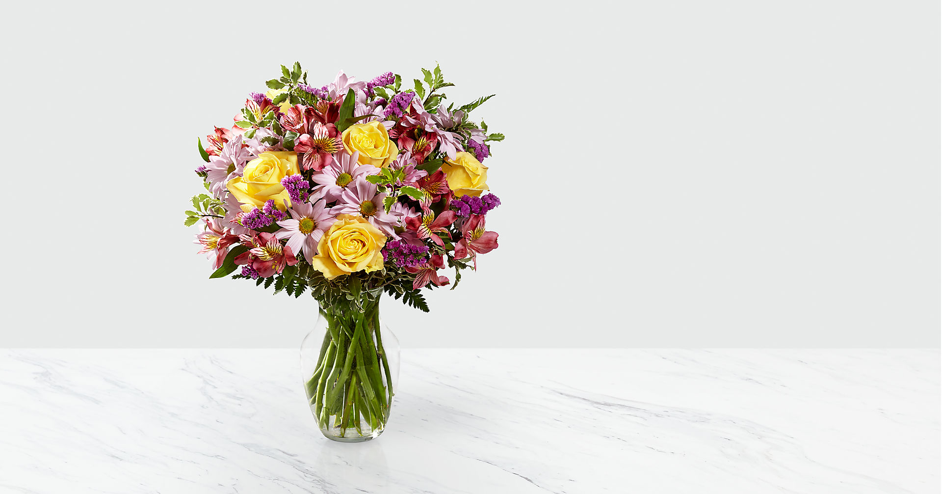 True Charm™ Bouquet- VASE INCLUDED - Image 1 Of 3