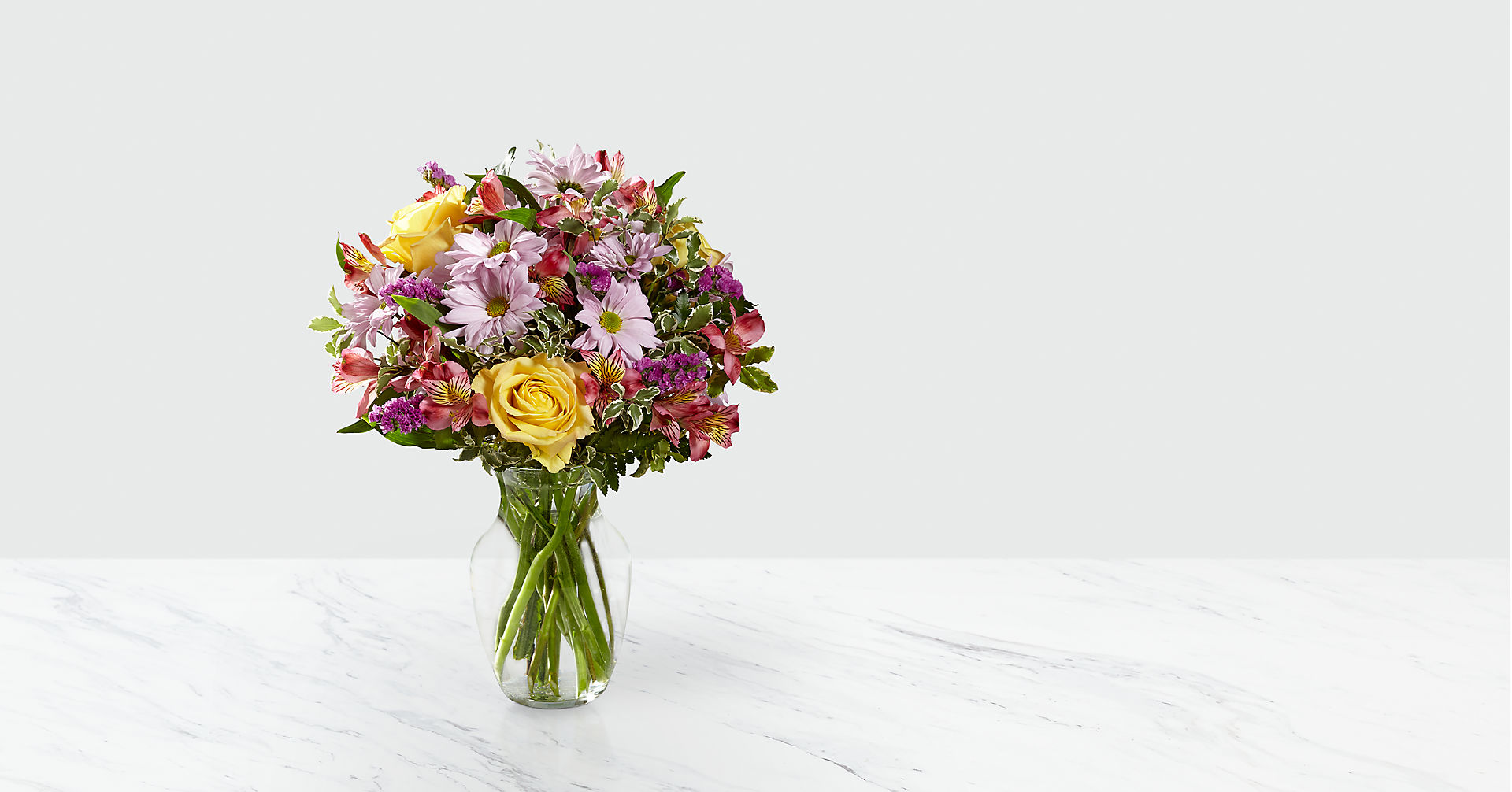 True Charm™ Bouquet- VASE INCLUDED - Image 1 Of 2