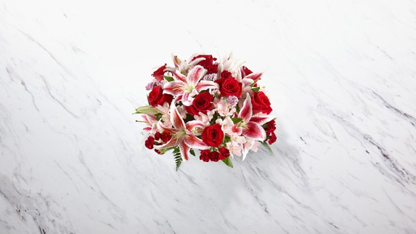 High Style Bouquet- VASE INCLUDED - Thumbnail 2 Of 3