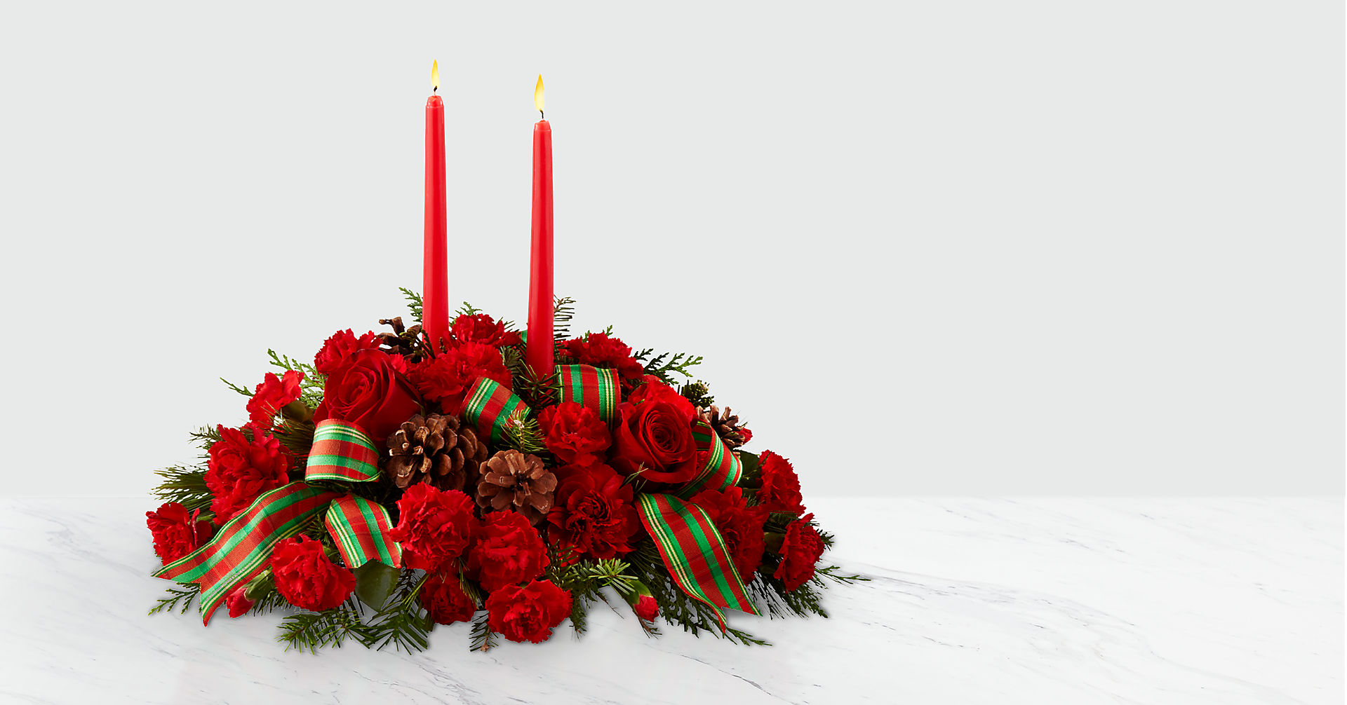 The FTD® Holiday Classics Centerpiece - Image 1 Of 2