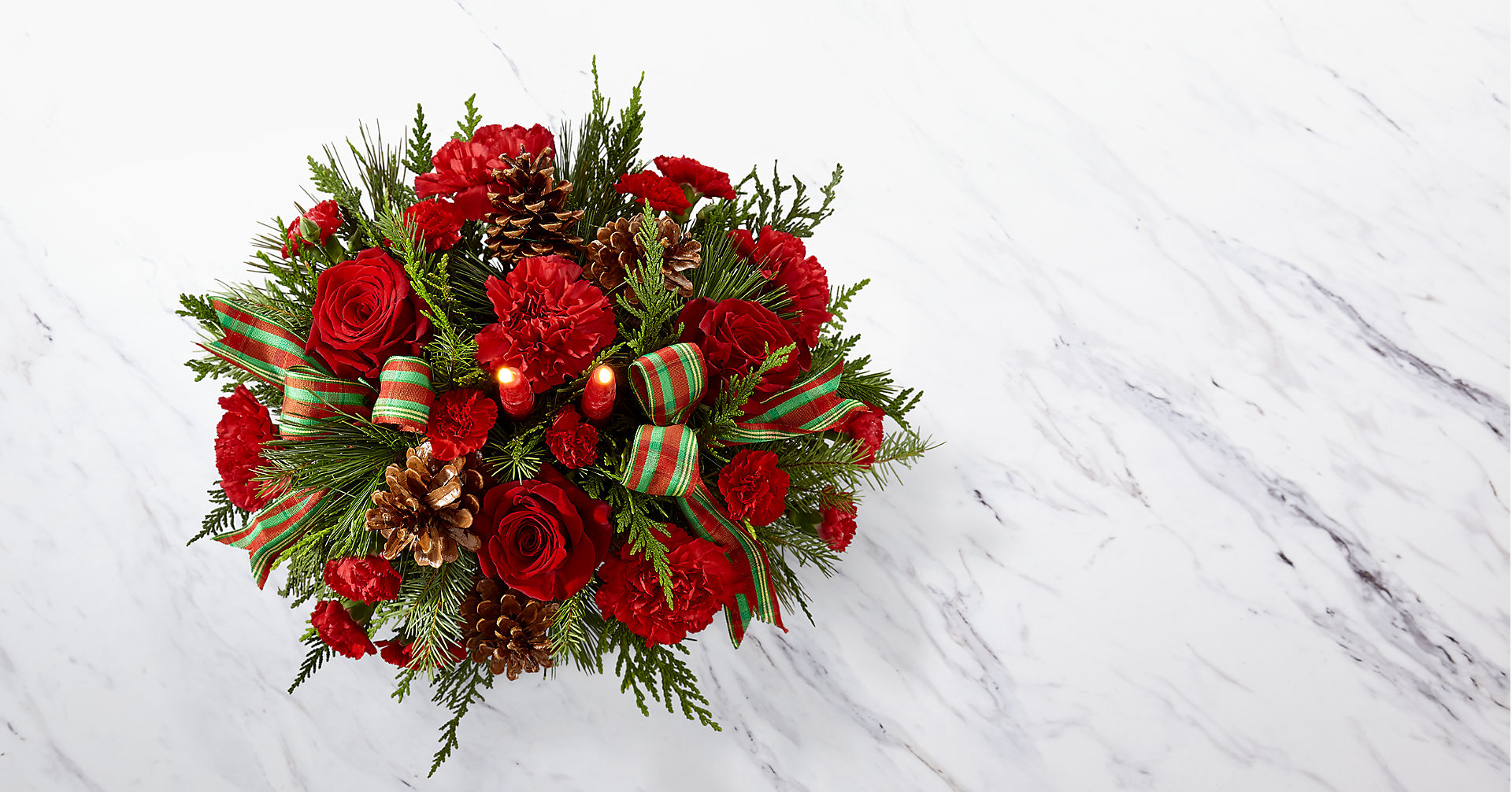 The FTD® Holiday Classics Centerpiece - Image 2 Of 2