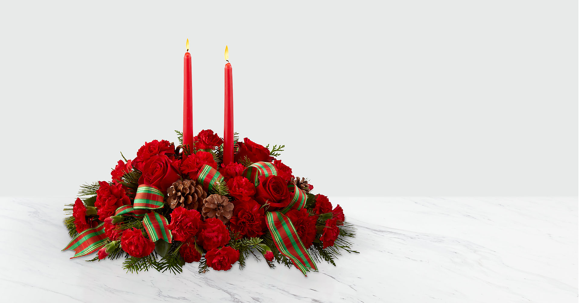 The FTD® Holiday Classics™ Centerpiece - Image 1 Of 3