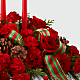 The FTD® Holiday Classics™ Centerpiece - Thumbnail 3 Of 3