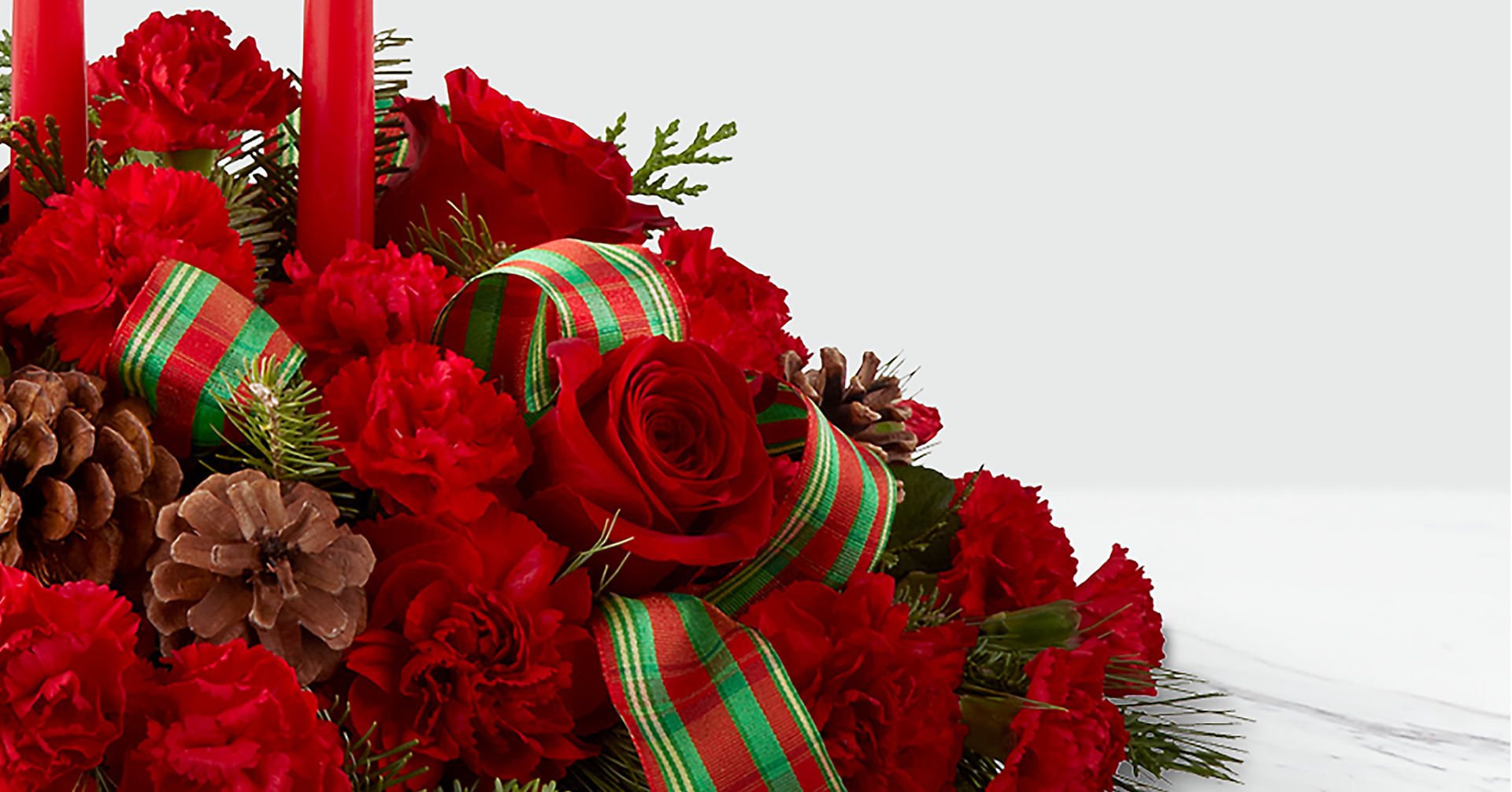 The FTD® Holiday Classics™ Centerpiece - Image 3 Of 3
