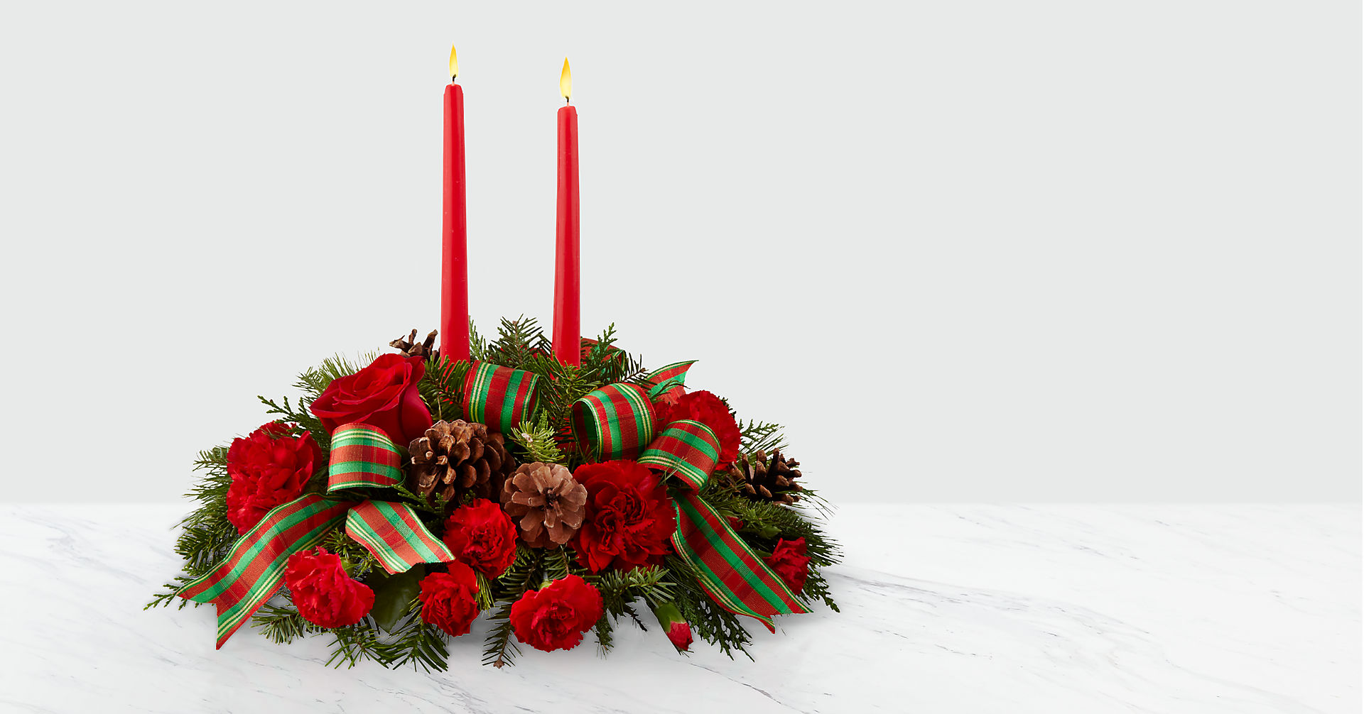 The FTD® Holiday Classics™ Centerpiece - Image 1 Of 2