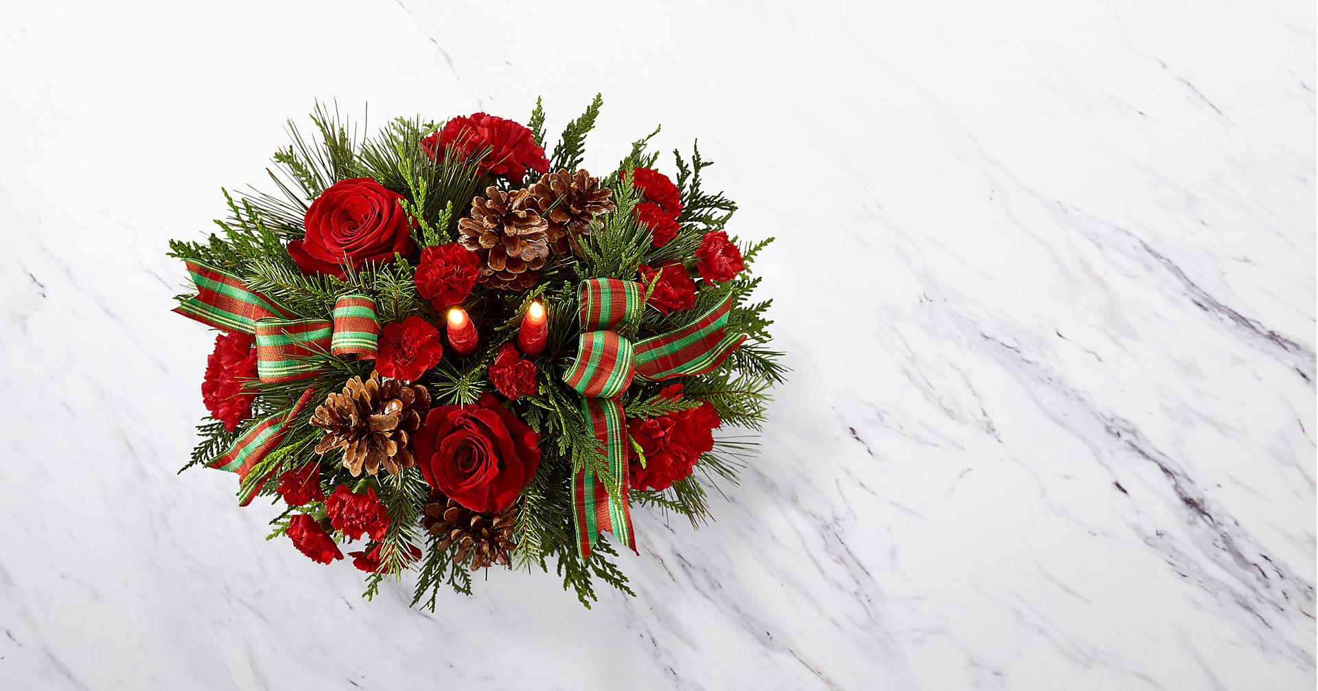 The FTD® Holiday Classics™ Centerpiece - Image 2 Of 2