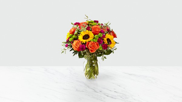 Color Craze™ Bouquet- VASE INCLUDED - Thumbnail 1 Of 3