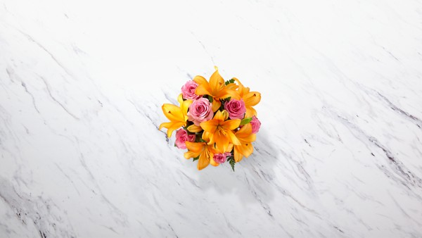 A Fresh Take™ Bouquet- VASE INCLUDED - Thumbnail 2 Of 2
