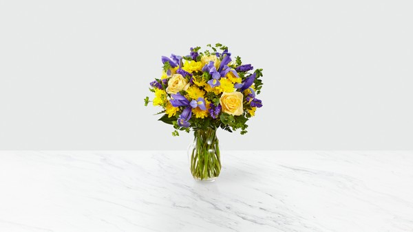 Cottage View™ Bouquet- VASE INCLUDED - Thumbnail 1 Of 3