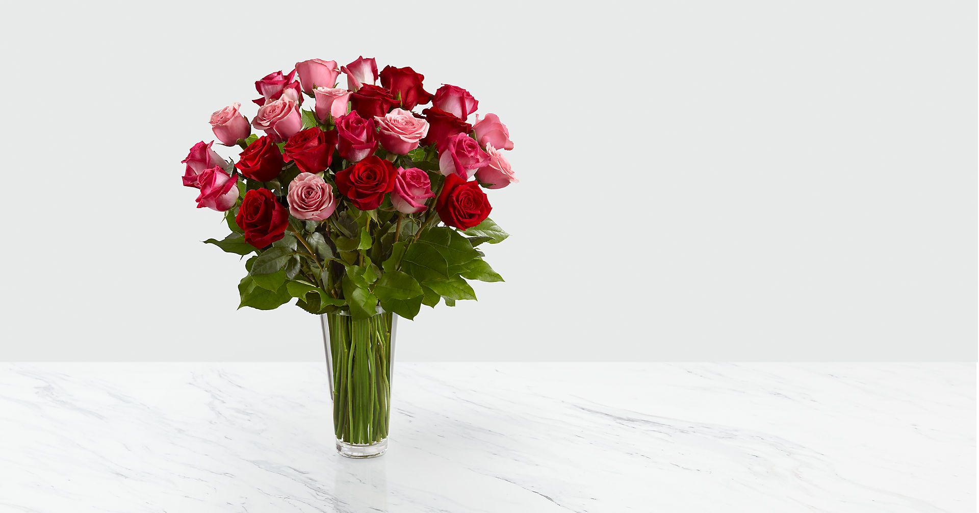 The True Romance™ Rose Bouquet - VASE INCLUDED - Image 1 Of 2
