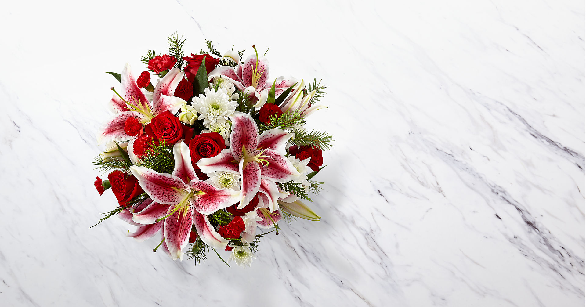 The FTD® Frosted Findings™ Bouquet - Image 2 Of 3