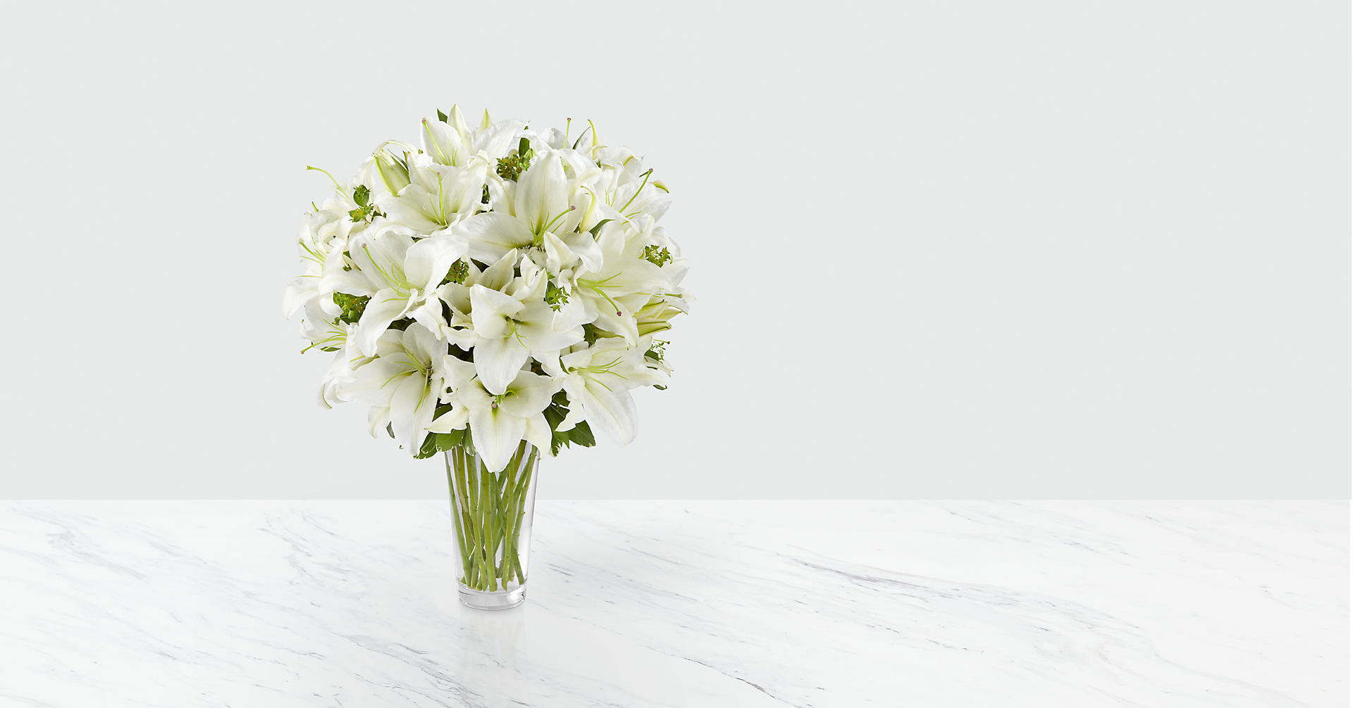 The Spirited Grace™ Lily Bouquet - Image 1 Of 2