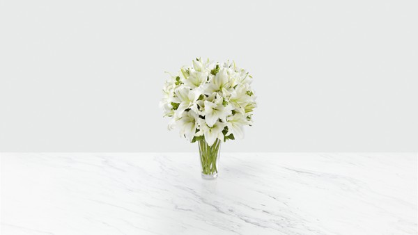 The Spirited Grace™ Lily Bouquet - Thumbnail 1 Of 2
