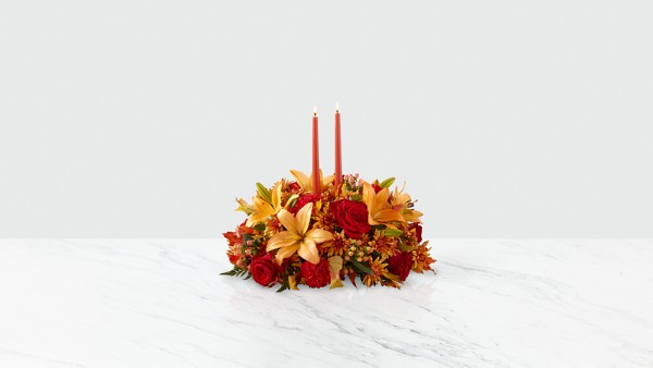 Bright Autumn™ Centerpiece - Deluxe - Thumbnail 1 Of 2