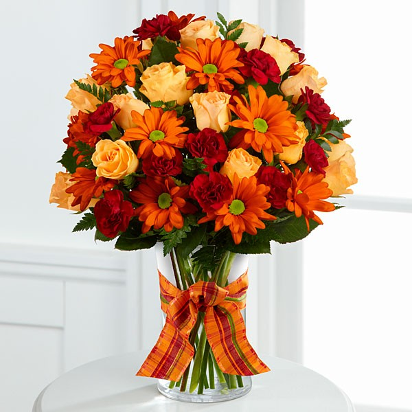 Golden Autumn™ Bouquet - VASE INCLUDED