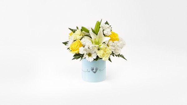 Tiny Miracle™ New Baby Boy Bouquet