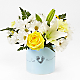 Tiny Miracle™ New Baby Boy Bouquet - VASE INCLUDED - Thumbnail 1 Of 3