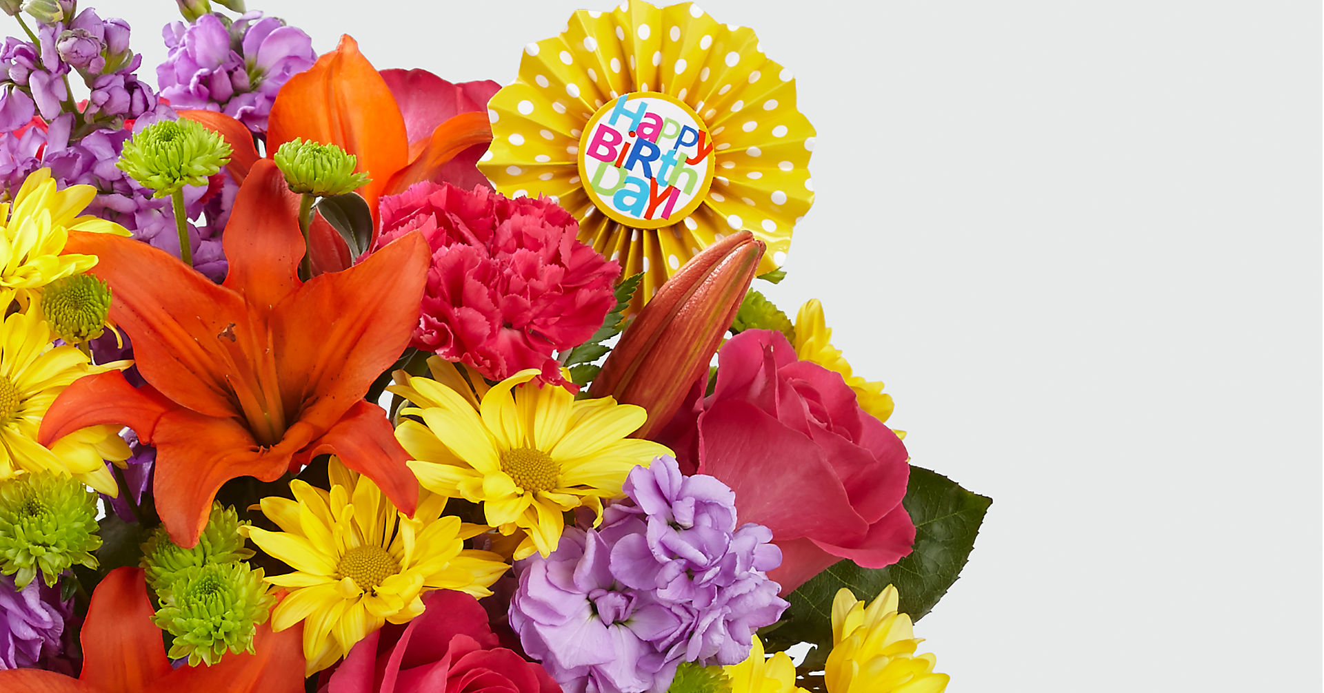 Set to Celebrate™ Birthday Bouquet - VASE INCLUDED - Image 3 Of 3