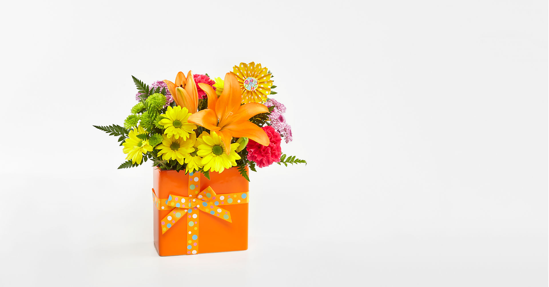 Set to Celebrate™ Birthday Bouquet - VASE INCLUDED - Image 1 Of 2