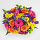 Birthday Brights™ Bouquet - VASE INCLUDED - Thumbnail 2 Of 4