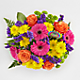 Birthday Brights™ Bouquet - VASE INCLUDED - Thumbnail 2 Of 5