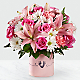 Tiny Miracle™ New Baby Girl Bouquet - VASE INCLUDED - Thumbnail 1 Of 3