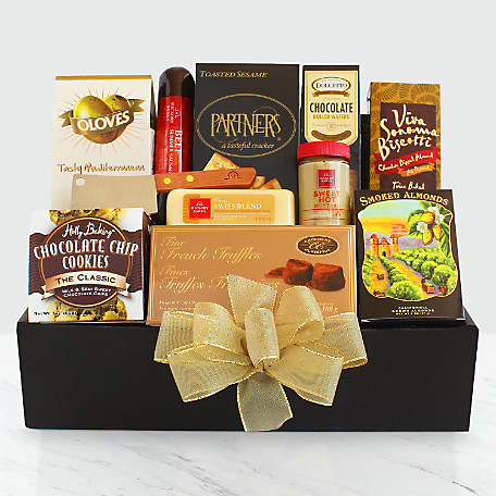 The FTDR Classic Gourmet Salami And Cheese Box