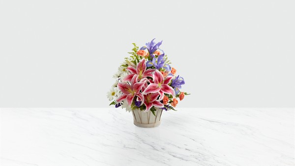 The Wondrous Nature™ Bouquet - BASKET INCLUDED - Image 1 Of 2