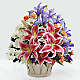 The Wondrous Nature™ Bouquet - BASKET INCLUDED - Thumbnail 1 Of 2
