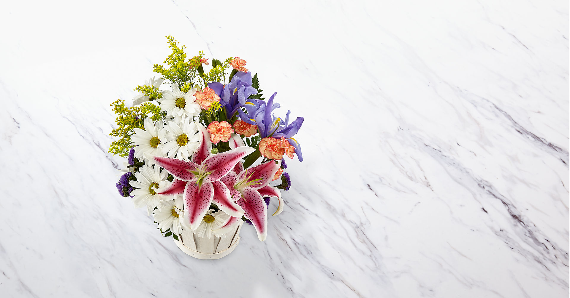 The Wondrous Nature™ Bouquet - BASKET INCLUDED - Image 2 Of 3