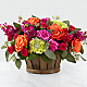 New Sunrise™ Bouquet - BASKET INCLUDED - Thumbnail 1 Of 2