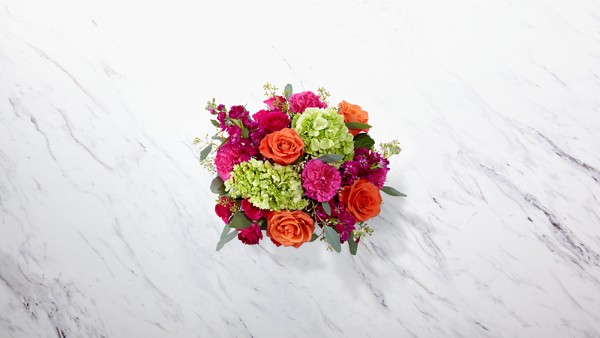 New Sunrise™ Bouquet - BASKET INCLUDED - Thumbnail 2 Of 2