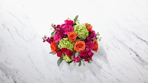 New Sunrise™ Bouquet -BASKET INCLUDED - Thumbnail 2 Of 2