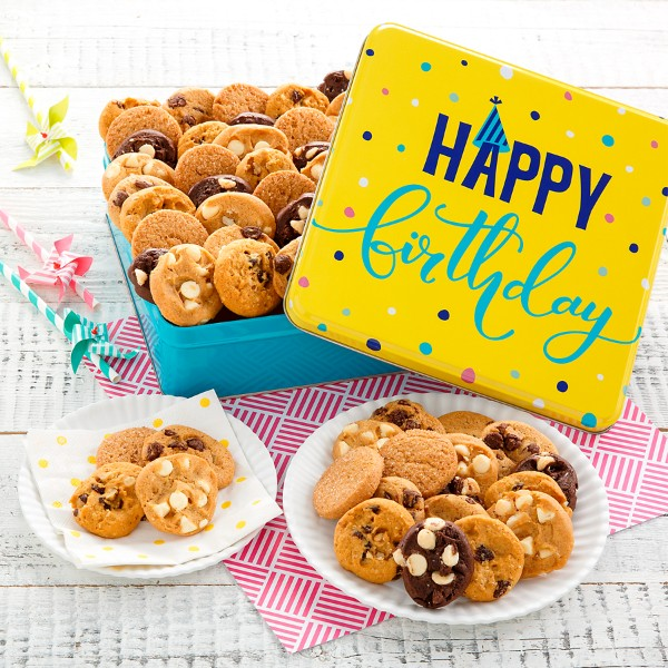 Mrs. Fields® Happy Birthday Nibblers® Tin