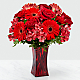 Red Reveal™ Bouquet- VASE INCLUDED - Thumbnail 1 Of 3