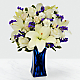 Beyond Blue™ Bouquet - Blue & White - Thumbnail 1 Of 3