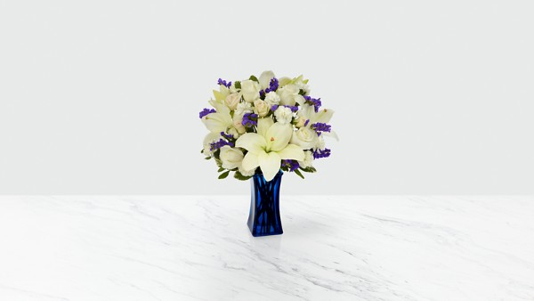 Beyond Blue™ Bouquet - Blue & White - Image 1 Of 3